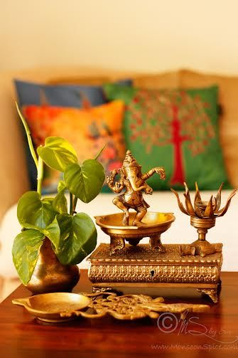 Welcoming Fall With A Tour Of An Indian Home in Cornwall