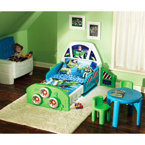 Attractive Buzz Light Year Boyu0027s Bedroom | Disney Toy Story Buzz Lightyear Spaceship  Toddler Bedroom Collection . Images