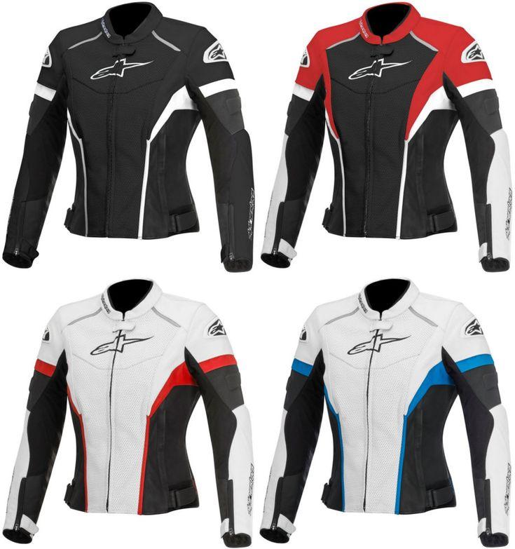 Alpinestars Womens Stella GP Plus R Perforated Armored Leather Jacket... ID:246829