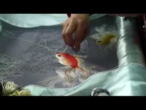 ▶ VIETNAM DALAT BRODERIES EMBROIDERY - YouTube
