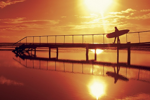Bridge at Spot X Surf Backpackers in Coffs Harbour, #Australia