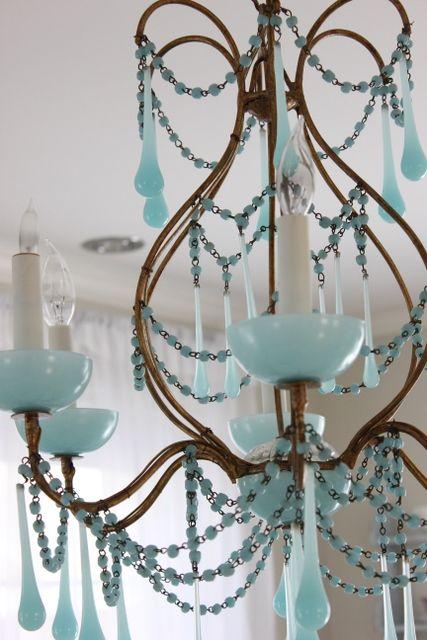 Maison Decor: Fabulous Opaline Chandeliers