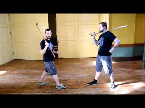 Antrim Bata (Irish Stick fighting): Sword or Stick? - YouTube