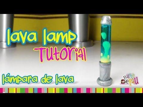 Lava Lamp Polymer Clay tutorial / Lámpara de Lava de arcilla polimérica - YouTube