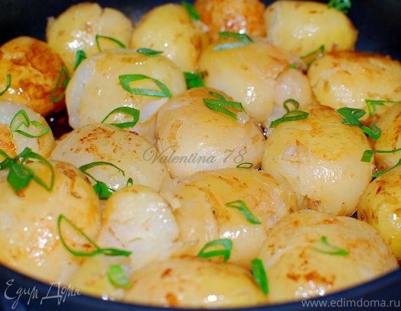 """Самый популярный сегодня рецепт, который вы, возможно, еще не видели:  """"Тающий"""" картофель"""