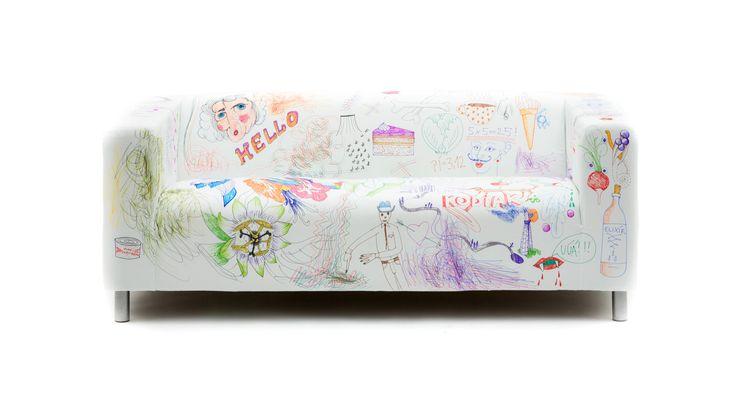 DY Markers - IKEA Klippan Cover