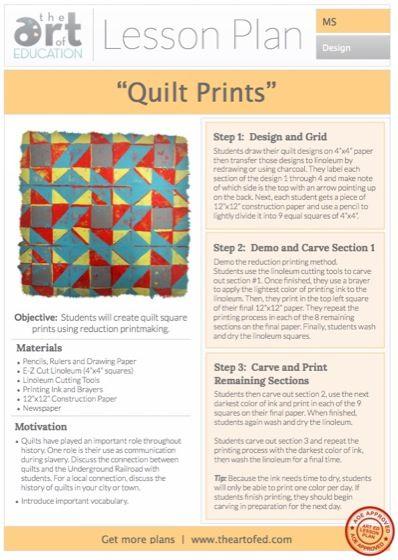 247 best art lessons printmaking images on pinterest art for Becker study plan