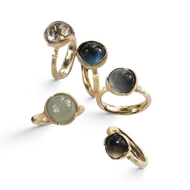 Lotus Rings. Inspired by the soft shapes of the beautiful Lotus flower #unique…