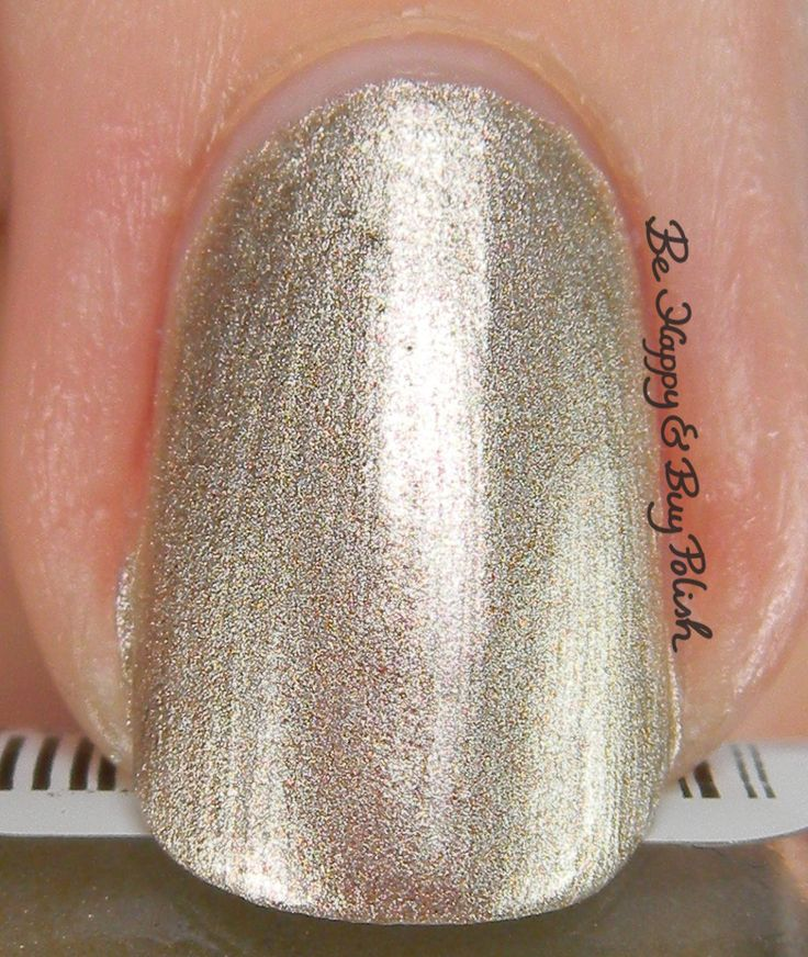 Cinderella Orly Color Blast Oh, That Clock! macro | Be Happy And Buy Polish http://behappyandbuypolish.com/2015/11/29/orly-color-blast-cinderella-nail-polish-collection-partial/