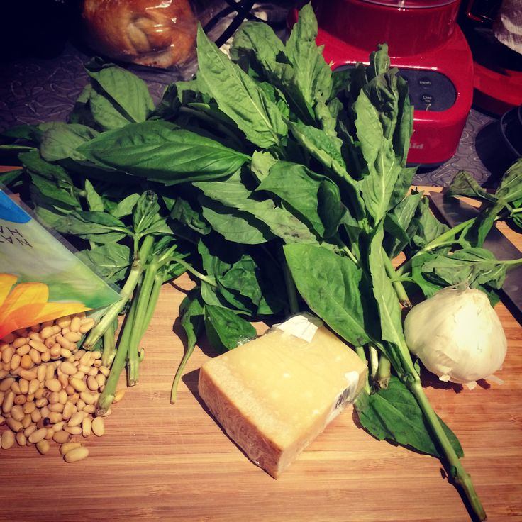 Let's Talk Basil  ||  Fresh basil is a great addition to most any pasta dish, right before you serve it. It's one of the three ingredients required to make the beautifully simple and delicious Read more... http://mendingthenest.com/lets-talk-basil/