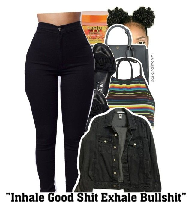 09-01-2016. by originalimanim on Polyvore featuring polyvore fashion style Motel American Apparel Puma MCM Cantu clothing
