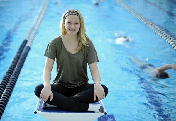 Tribune and WGN-Ch. 9 Preps Plus Athlete of the Month | Glenbrook South's Olivia Smoliga