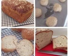 Recipe Gluten Free EASY Bread & Rolls by Elisha Squire - Recipe of category Breads & rolls