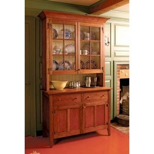 Country Hutch Project Plan By Fine Woodworking