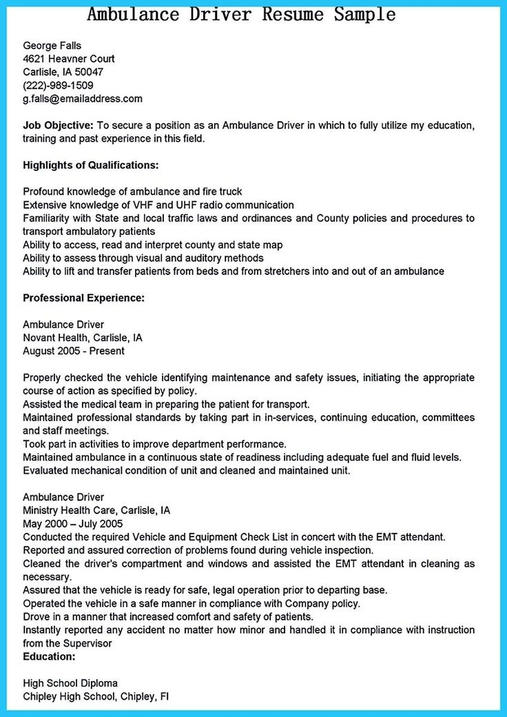cool Stunning Bus Driver Resume to Gain the Serious Bus Driver Job ...