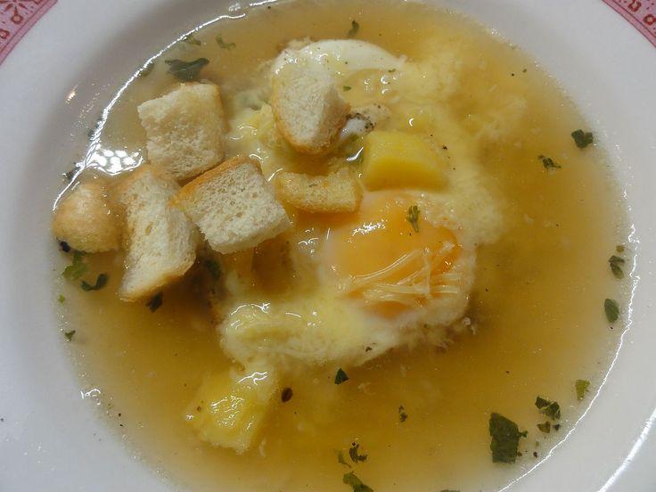 Česneková polévka s vejcem a sýrem | recept. Česnečka – kdo z nás by tuto polévku neznal :) Vyprošťovací polévka po