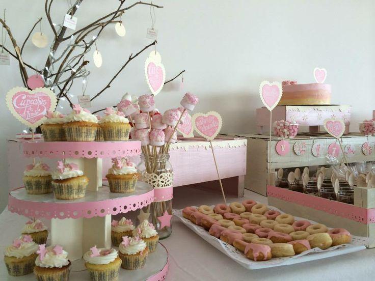 Sweet dreams mesas de postre para bautizo mesa de - Postres para mesa de dulces ...