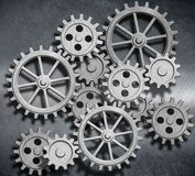 Clockwork Gears And Cogs Metal Background - Download From Over 61 Million High Quality Stock Photos, Images, Vectors. Sign up for FREE today. Image: 24873585