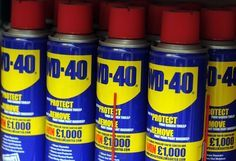 The humble can of WD-40 has a lot more uses than you'd think [Rex]