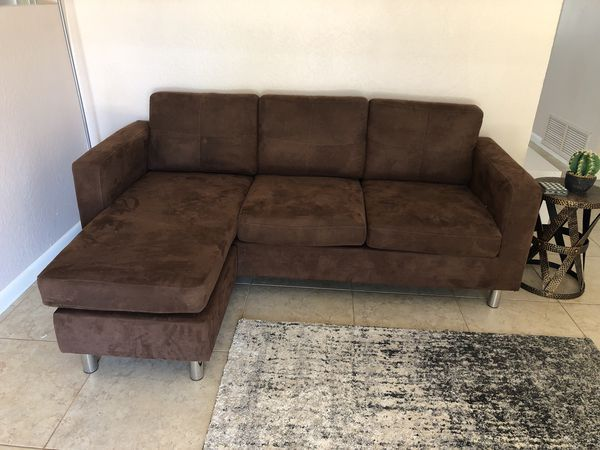 Couch / small sectional for Sale in Phoenix, AZ | couches | Couch ...