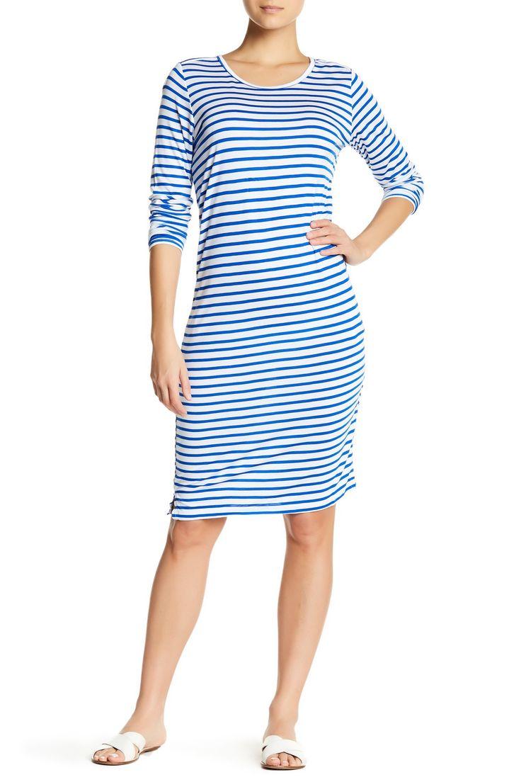 Chiba Long Sleeve T-Shirt Dress