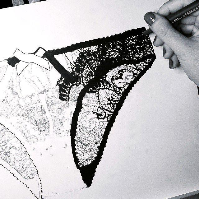 Vanessa Vanderhaven fashion illustration Vanessa... | Fashionary Hand - A…