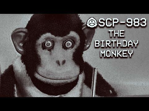 SCP-983 - The Birthday Monkey : Safe : Temporal SCP ( New