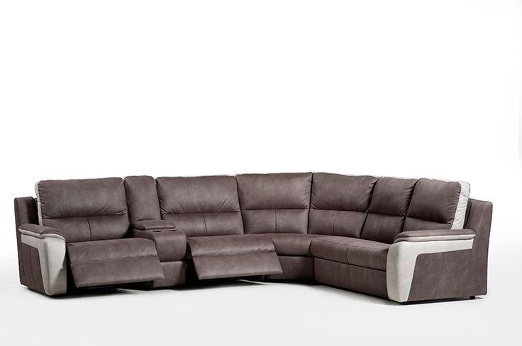 MADANI - Un salon confortable qui existe aussi en deux coloris. Pour ceux qui aiment se réposer, les relax électriques ou manuels de Madani sont la solution | Meubles Toff