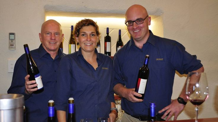 Grosset Wines: It is always a special event when Grosset Wines cellar door is open. Jeff Grosset, Danielle Boulton and Leigh Milburn were kept busy with a steady flow of visitors all weekend.