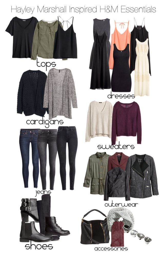 """""""The Originals - Hayley Marshall Inspired H&M Essentials"""" by staystronng ❤ liked on Polyvore"""