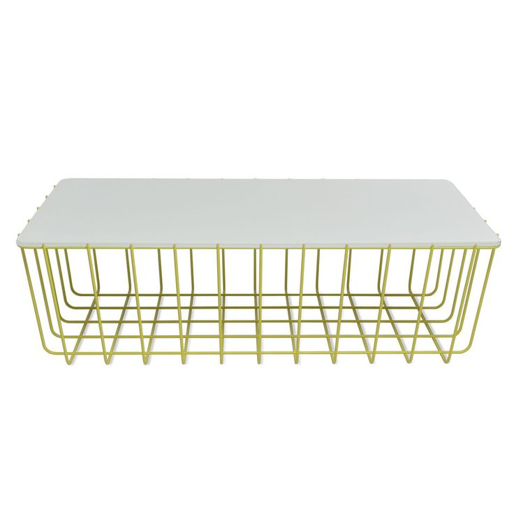 Scampi table . BluDot. Mix and match bases and top