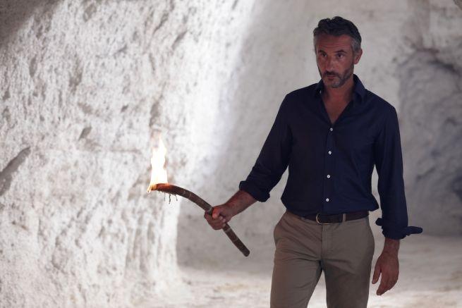 """Vincenzo Venuto sul set di """"Gladiators"""""""