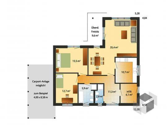 die besten 17 ideen zu winkelbungalow grundriss auf pinterest winkelbungalow architektur. Black Bedroom Furniture Sets. Home Design Ideas