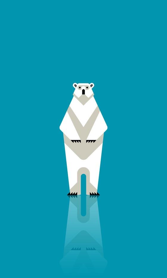 Angular Polar Bear