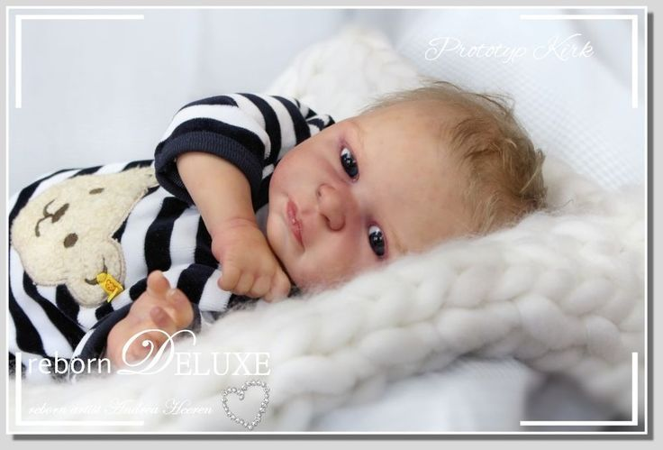 rebornDELUXE PROTOTYPE ~Kirk~ doll by Iveta Eckertova *so cute Sammler Puppe Boy  | eBay