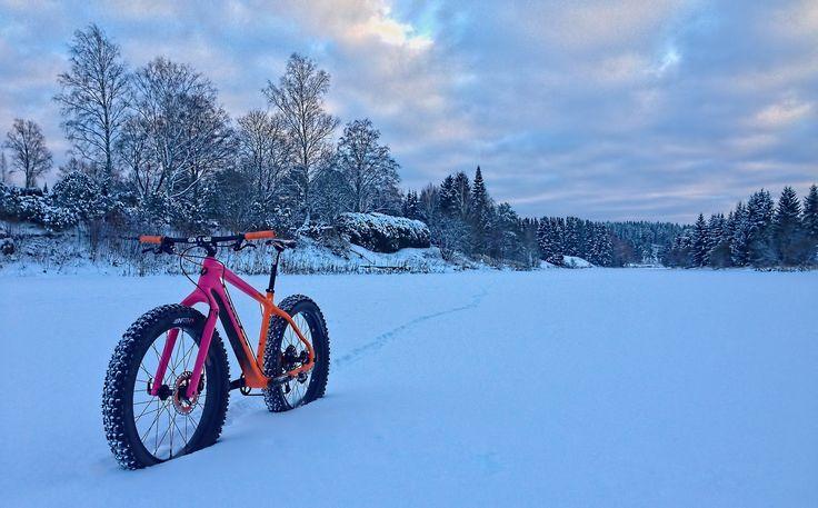 Fat-Bike Finland – paksupyörä / lumipyörä » Talvi oli hetkisen