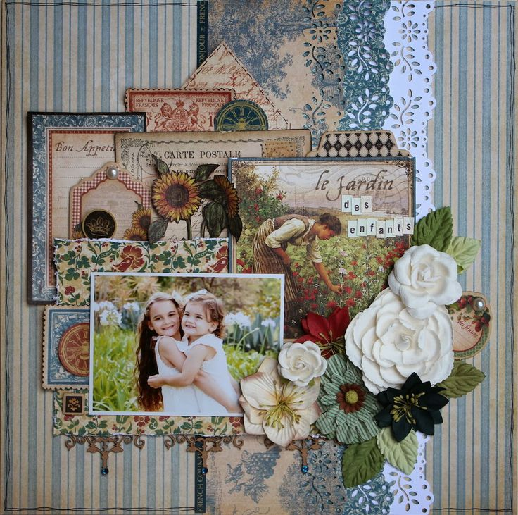124 best layouts scrapbooking by naiara images on for French country collection