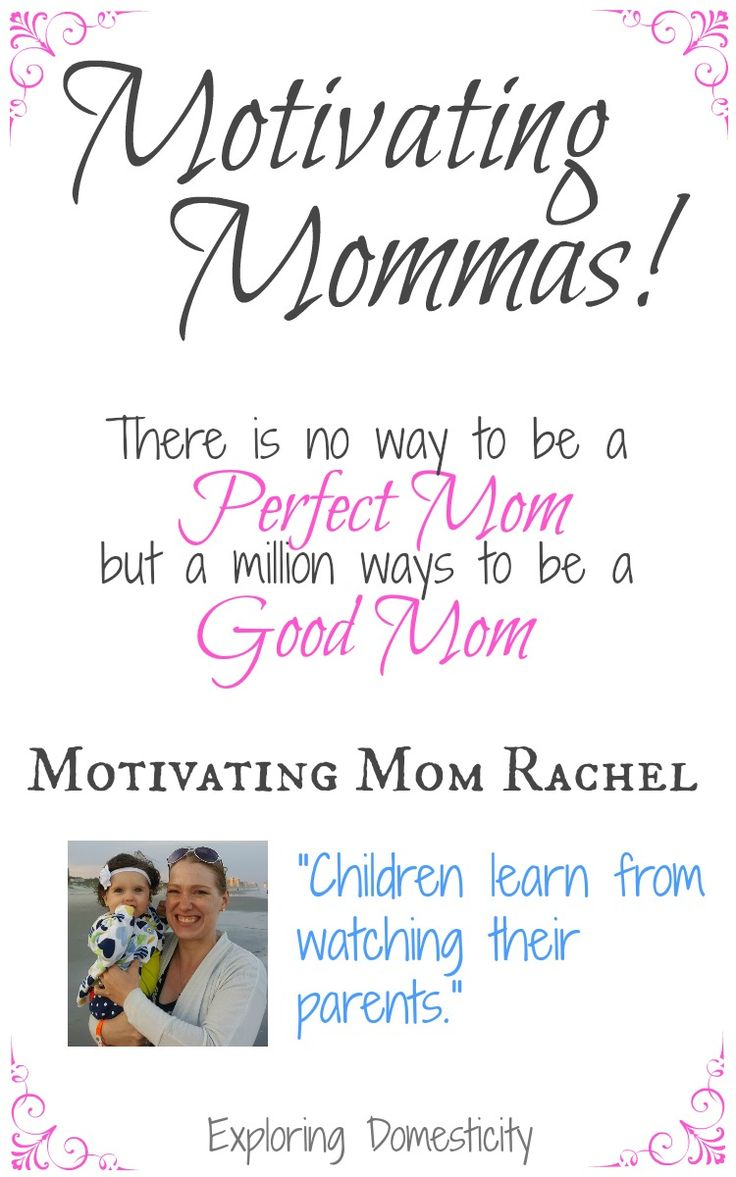 There is no way to be a perfect mom, but a million ways to be a good mom. I love hearing stories from other moms, especially those who are committed to living a healthy lifestyle and raising a healthy family. I'm very inspired by other moms and I love to hear their stories about how they ...