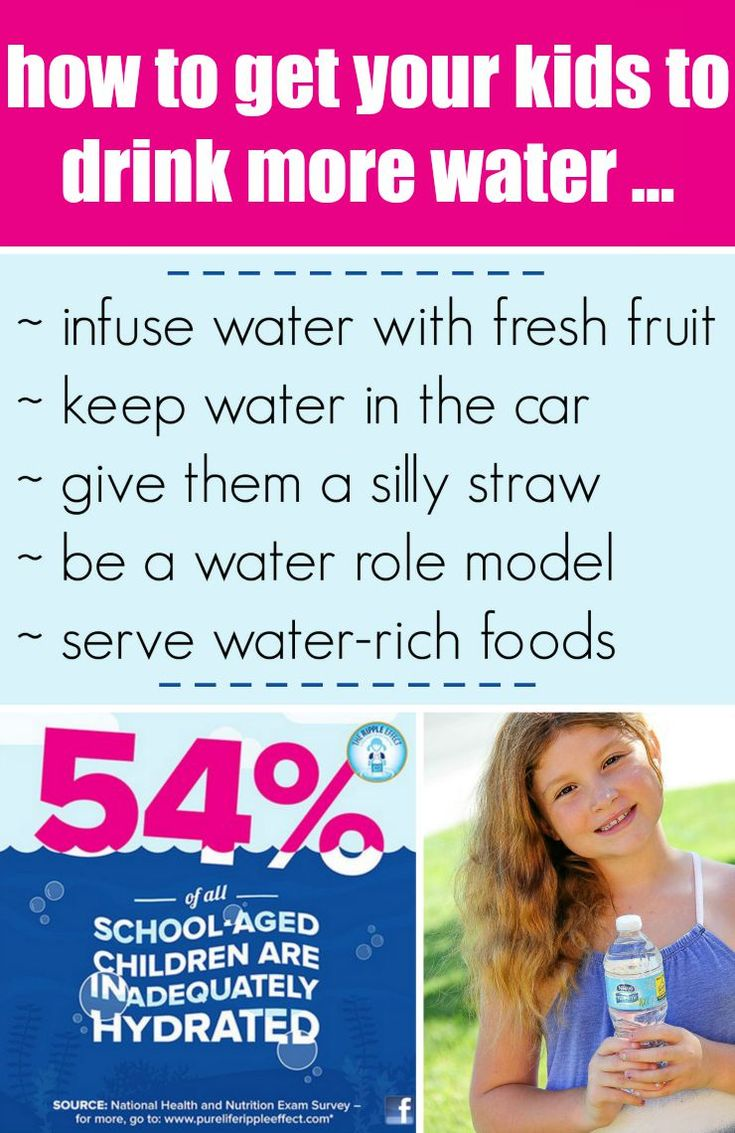 5 Tips to Get Kids Drinking Water