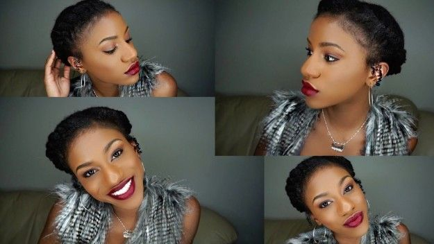 17 Gorgeous Natural Hairstyles That Are Easy To Do On Short Hair Short Hair Natural And Curly