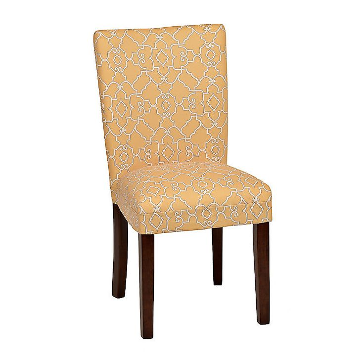 Lemon Trellis Parsons Chair   Parsons chairs, Dining ...