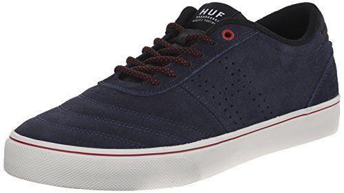 HUF Skateboard Shoes GALAXY NAVY BONE Size 7.5 - http://on-line-kaufen.de/huf/7-5-d-m-us-huf-skateboard-shoes-galaxy-navy-bone