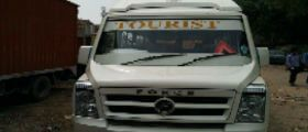 15 Seater tempo travellers can accommodate easily 15 Passengers with comfortably during travel with luxury journey and available ample space for luggage and leg relief.