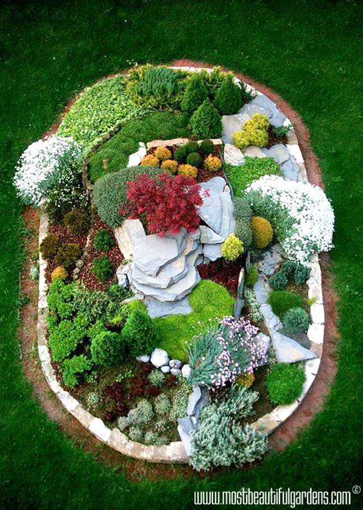 91 Best Images About Gardening - Rock Gardens On Pinterest