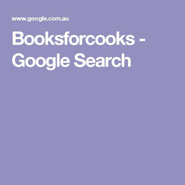Booksforcooks - Google Search