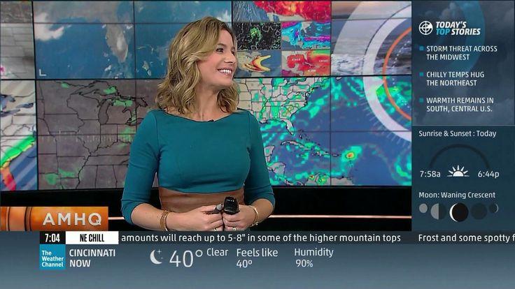 Jen Carfagno - The Weather Channel | Stuff I happen to ...