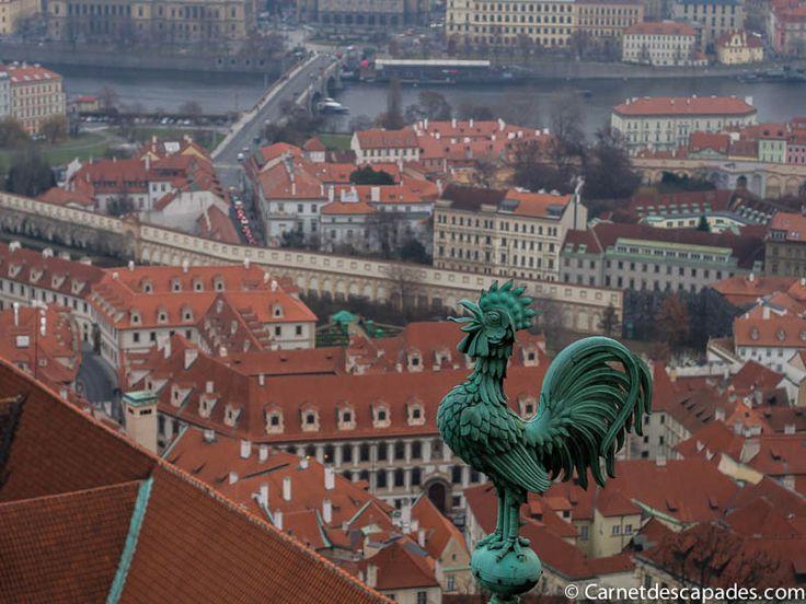 J'adore prendre de la hauteur pour admirer une ville et mieux comprendre ainsi comment elle est organisée. Prague compte de nombreux points de vue tous plu