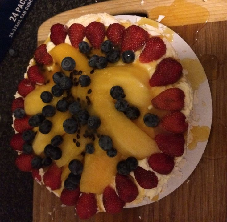 An Aussie Christmas is not complete without a Pavlova..... Forget plum pudding.... It's Pavlova