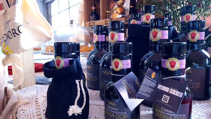 Olio extravergine di oliva Sabina DOP campagna 2015/2016