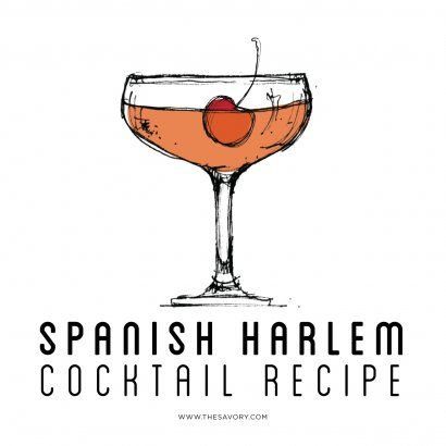 Spanish Harlem Cocktail Recipe